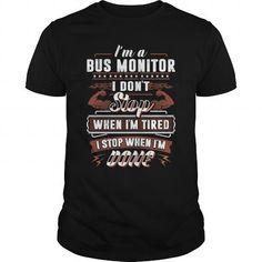 I Love  Bus Monitor Shirts & Tees
