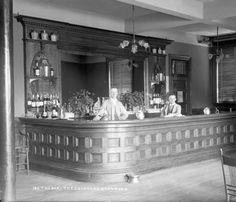 Bar at the Hotel Colorado in Glenwood Springs, Colorado;1893