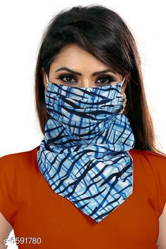 Masks Face Mask Material: Chiffon Type: Face Mask Multipack: 1 Description: It Has 1 Piece Of Women Sun Protection Print Scarf Dust Proof Neck Scarf Masks Size: Free Size Feature: Prevent Facial Skin Damage, Cool Protection It's very soft and close to your skin. Can absorb sweat from your face and dry quickly, UV-Proof, Dust-Proof, Sand- Proof, Windproof Wear it as a face mask to protect your face get burned from sun rays directly Also they help keep your nose and mouth clean from breathing dust Suitable for women,Girls, Easy to breath and Lightweight easy to carry Recommended for achieving Ultimate Coverage in Sun Protection while participating in outdoor activities wearing UPF 50+ clothing Sizes Available: Free Size *Proof of Safe Delivery! Click to know on Safety Standards of Delivery Partners- https://ltl.sh/y_nZrAV3  Catalog Rating: ★4 (383)  Catalog Name: Face Mask CatalogID_1050263 C89-SC1758 Code: 081-6591780-