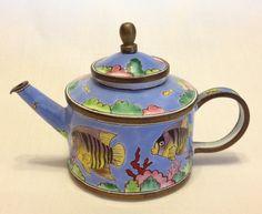 Trade Plus Aid fish teapot