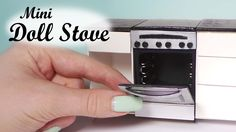 Miniature Oven/Stove Tutorial - Dollhouse Stove