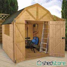 x windsor groundsman dutch barn shed - Garden Sheds Yeovil