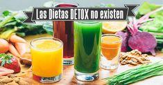 La dieta DETOX no existe. ¿Estamos intoxicados?