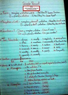 English Grammar Notes, Teaching English Grammar, English Grammar Worksheets, English Writing Skills, English Vocabulary Words, Learn English Words, English Language Learning, English Lessons, Language Arts