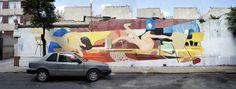 "Fusca Zoer & Velvet CSX - ""Chez moi"" - Mexico DF 013 Acrylic paint on wall"