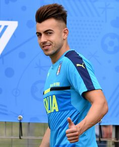 Stephan el shaarawy gianluigi buffon my favorite soccer players italy training session press conference voltagebd Gallery