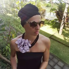 Sunkoplet turban & necklace