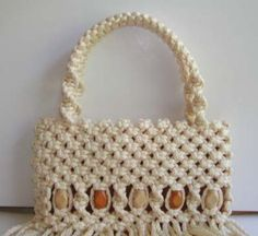 macrame purse tutorial