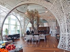 Turkish Airlines lounge ,Istanbul, Turkey. (c) Nathan DePetris