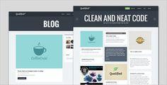 cool Qualified - Blog and Portfolio wordpress Theme