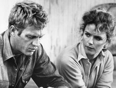 "1965– Steve McQueen and Lee Remick in ""Baby the Rain Must Fall"" – Image by © Bettmann/CORBIS"