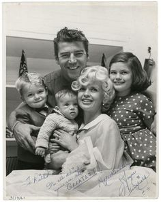 Jayne Mansfield, Mariska Hargitay's mother and the rest of the family....