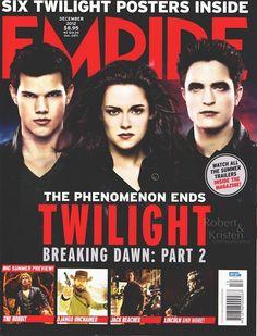 Robert Pattinson & Kristen Stewart: Breaking Dawn Part II Empire Magazine (Australia) December 2012