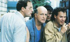 Christopher Lloyd, Peter Boyle, Michael Keaton in The Dream Team (1989)