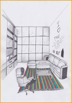 Art Hoe, Copic, Architecture Design, Sketches, Kids Rugs, Drawings, House, Inspiration, Home Decor