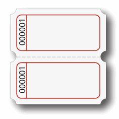 Blank Admssion Ticket Templates … | Pinteres…