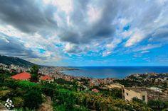 A beautiful view of #Jounieh منظر كتير حلو ل #جونية By Mike Kobi  #Lebanon #WeAreLebanon