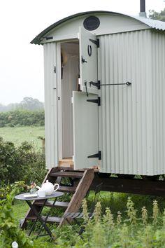 Shepherd's Hut in Mizzle
