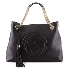 If the Gucci Black Double Chain Bag Soho fits 3b3fca3d0b2a0