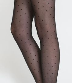 DOTTED TIGHTS from Zara