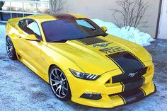 We Offer Fitment Guarantee on Our Rims For Ford Mustang. All Ford Mustang Rims For Sale Ship Free with Fast & Easy Returns, Shop Now. New Mustang, S550 Mustang, Ford Mustang Shelby, Mustang Cars, 1973 Mustang, Mustang Wheels, Shelby Gt, Ford Mustangs, Yellow Car