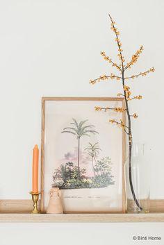 Slaapkamer inrichten met najaarstrends 2017 Essenza dekbedovertrek Fleur Ecru ©BintiHome