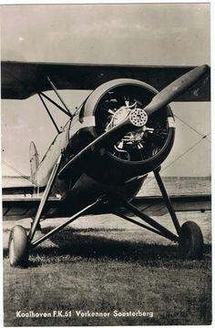 Luchtvaart,Koolhoven,F.K.51.Verkenner Soesterberg.