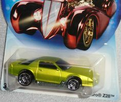 Hot Wheels Holiday Hotrods Chevy Camaro Z 28 Spectra Frost
