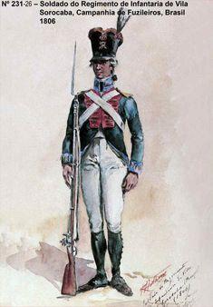 Portuguese Infantry Fusilier - Brasil 1806
