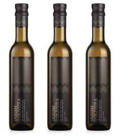 Olive oil packaging designed by NTGJ