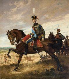 Alfonso XIII con uniforme de húsar (Ayuntamiento de Sevilla)
