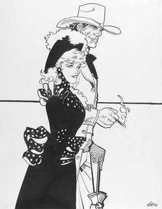 GALERIE ARLUDIK : ARTISTES Jean Giraud, Western Comics, Western Art, Comic Book Layout, Comic Books, Nogent Sur Marne, Moebius Art, Serpieri, Ligne Claire