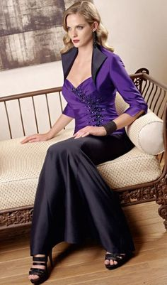 VM Collection 3pc Long Mother of the Bride Suit 70317 by Mori Lee at frenchnovelty.com