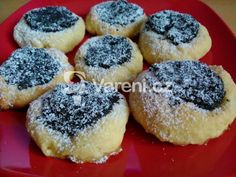 Fotografie receptu: Nekynuté šlehačkové koláčky - My site Czech Desserts, Biscuit Cookies, Christmas Sweets, Sweet Recipes, Food To Make, Biscuits, Cheesecake, Food And Drink, Homemade