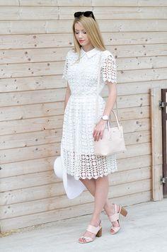 Dress – Chicwish / Bag – Furla / Shoes – F&F / Hat – H&M / Watch – Klarf /  Sunglasses – ZeroUV.