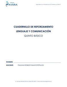 CUADERNILLO DE REFORZAMIENTO LENGUAJE Y ... - Codesin Cards Against Humanity, Notebooks, Words