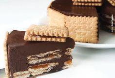 Τούρτα σοκολάτα με μαρμελάδα βερίκοκο & πτι-μπερ
