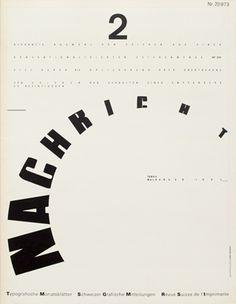 Swiss Typography — Typographische Monatsblätter