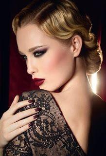 Stark colors Fashion Makeup 2013