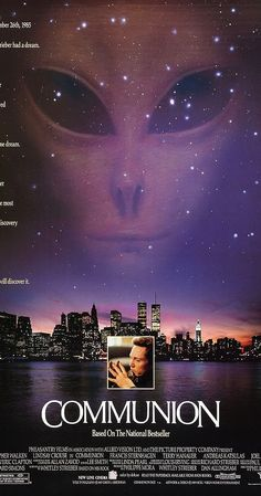 Directed by Philippe Mora.  With Christopher Walken, Lindsay Crouse, Frances Sternhagen, Andreas Katsulas. Whitley Strieber goes with his family and some friends to his holiday home in the forest. They experience some weird occurances, are they UFO activity? Whitley is abducted and then faces a horrible dilema; was I abducted or am I going mad? He sees a psychiatrist who tries to use hypnotic regression to discover the truth.