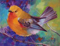 Bird 1 - PROTHONOTARY WARBLER -- Elizabeth Blaylock