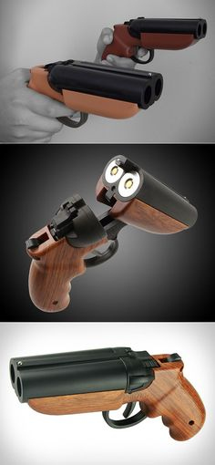 Goblin Deuce is World's First Double-Barreled Air Cartridge Paintball Pistol