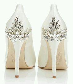 Aplicaciones para zapatillas de boda