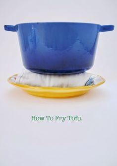 ohdeardrea: How To Fry Tofu