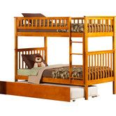 Found it at Wayfair - Woodland Twin Over Twin Standard Bunk Bed with Trundle