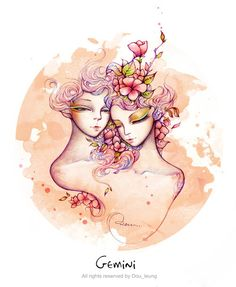 Muy cheveres las ilustraciones!!! 12 constellation by Dou , via Behance
