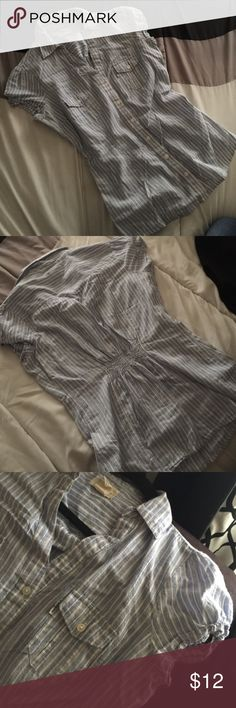 Levi's striped top No rips or stains. Sorry no trades. Levi's Tops Blouses