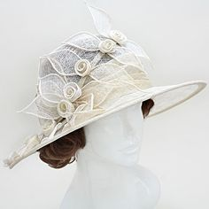 Wona Trading is the place for you to be if you are looking for fashion jewelry suppliers who can help you with fashion jewelry and accessories in the best possible manner. Sinamay Hats, Millinery Hats, Fascinator Hats, Fascinators, Ladies Hats, Hats For Women, African Hats, Tea Hats, African Lace Dresses