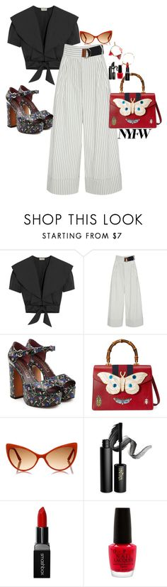 """""""Free"""" by claire86-c on Polyvore featuring moda, Temperley London, TIBI, Marc Jacobs, Gucci, Tom Ford, INIKA, Smashbox, OPI e Isabel Marant"""