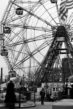 Coney island wonder wheel | I've actually been on this thing, but it was a one time only thing!